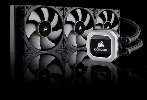 Cooler CPU Corsair H150i RGB, racire cu lichid, ventilator 3x120mm, baza cupru, Socket Support: AM2/3/4, FM1/2, LGA: 115x, 1366, 2011, 2011-3, 2066,