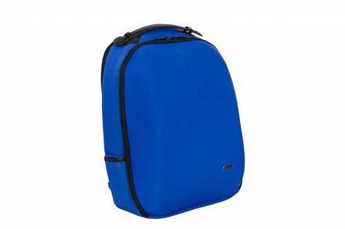"""Rucsac notebook Serioux BPK-1601, carcasa rigida, max 15.6"""", compartimentat, nylon, albastru"""
