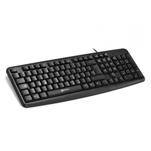 Tastatura Serioux 9400 ROMANIA, cu fir, RO layout, neagra, 104 taste, USB