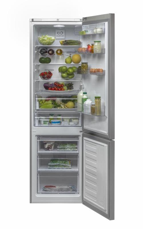 Combina frigorifica Beko RCNA400E21DZW, clasa de energie A+, volum brut 400l, volumnet frigider 249 l, volum net congelator 97l, No-frost, control