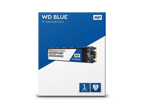 "SSD WD, 1TB, Blue, SATA3, M.2 2280, 6 Gb/s, 3D NAND, 7mm, 2.5"", Solid State Drive"