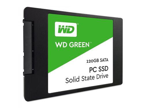 """SSD WD, 120GB, Green, 2.5"""" SATA 3 6GB/s, 7mm"""