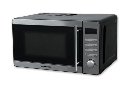 Cuptor cu microunde Heinner HMW-20DBKSS, capacitate: 20L, putere cuptor: 700W, putere grill: 800W, control digital, temnporizator, 5 nivele de