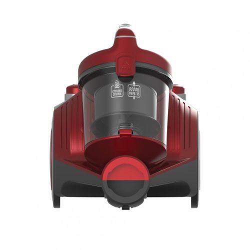 Aspirator fara sac Daphne 700 Heinner HVC-MC700RD, sistem ciclonic cu filtru HEPA, putere: 700W, putere de absorbtie: 140W, capacitate recipient