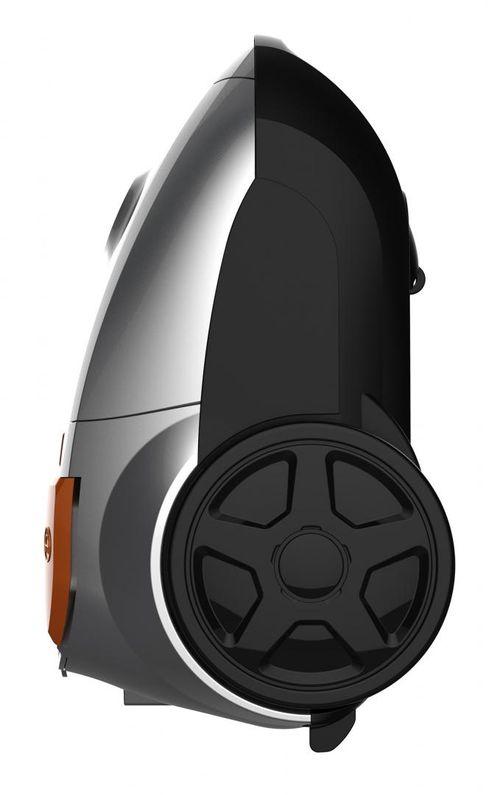 Aspirator cu sac Heinner HVC-MGRY1400-V2, putere: 700W, putere de absorbtie: 170W, putere variabila, tija telescopica din metal, 1 perie de praf si