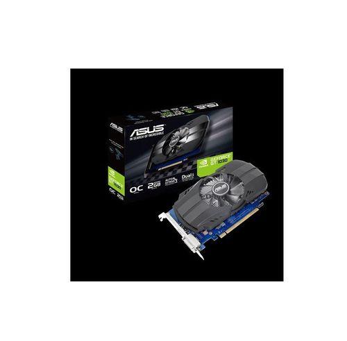 ASUS GEFORCE GT1030 2GB Phoenix OC, PH-GT1030-O2G, Base Clock/Boost Clock: TBD/TBD, Memory Clock: 1500Mhz, 2048MB GDDR5, 64-bit, PCI-Express 3.0 x16,