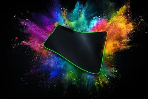Mousepad Razer, Goliathus Chroma, Non-slip rubber base, Balanced for speed and control playstyles, Optimized surface for all mice and sensors,
