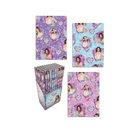 Hartie pentru ambalat Violetta, 200 x 70 cm