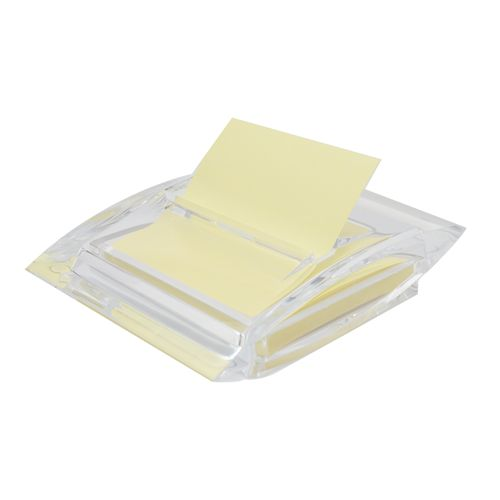 Dispenser Silwerhof Gold, pentru notes Z, 75 x 75 mm
