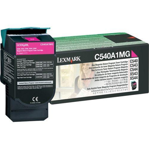 TONER LEXMARK C540A1MG MAGENTA PT C540/3/4/6 1K