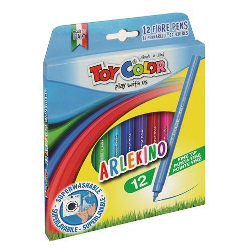 Carioci Toy Color Arlekino, 12 buc