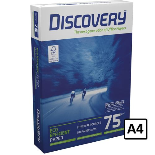 Hartie copiator A4 Discovery, 75 g/mp, 500 coli/top