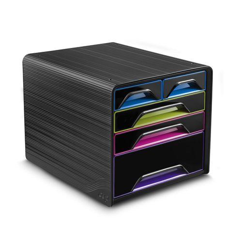 Suport 5 sertare mixte CEP, multicolor Gloss