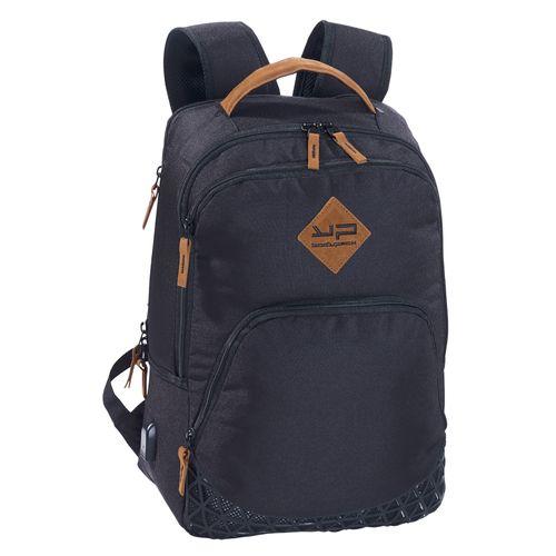 Rucsac laptop Bodypack 1609, 2 compartimente, port USB