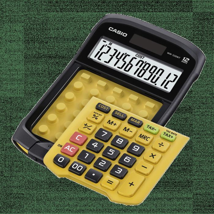Calculator-de-birou-Casio-WM-320MT-12-digits-portocaliu