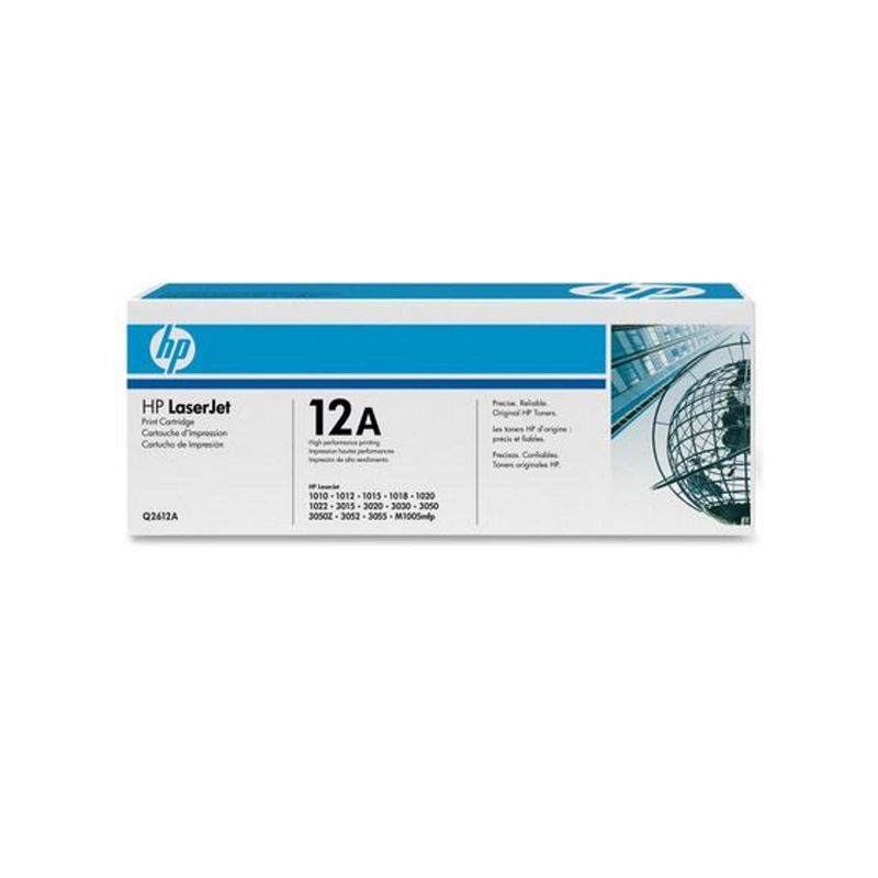 Toner HP OEM Q2612A, negru