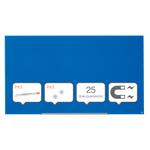 Tabla-magnetica-de-sticla-Nobo-Diamond-Widescreen-85-colturi-rotunjite-1883-x-1059-mm-albastru