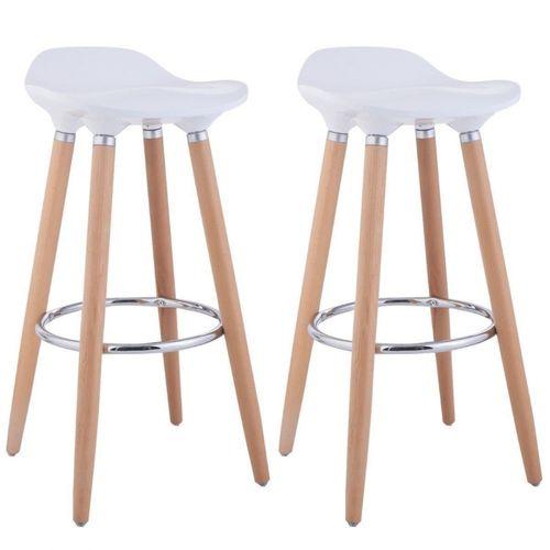 Set 2 scaune bar Jasmine, negru