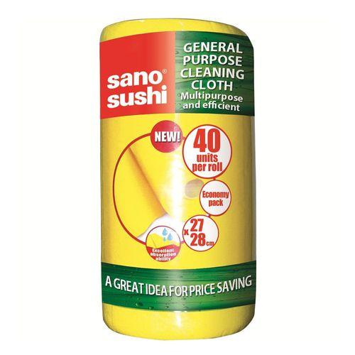 Lavete universale Sano Sushi, galbena, 40 bucati/set
