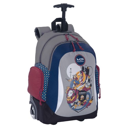 RUCSAC TROLLER 2 COMPART DRAGON BODYPACK