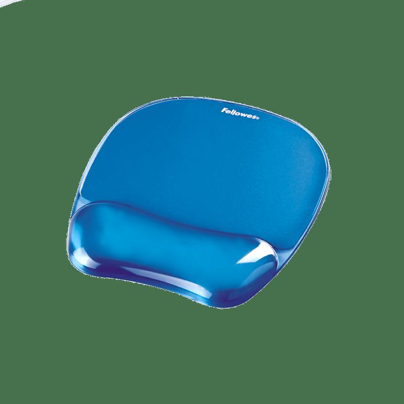 Mouse pad Fellowes cu suport gel, albastru