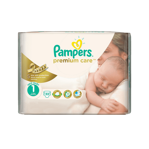 Pampers premium ca2 mini 20/23buc