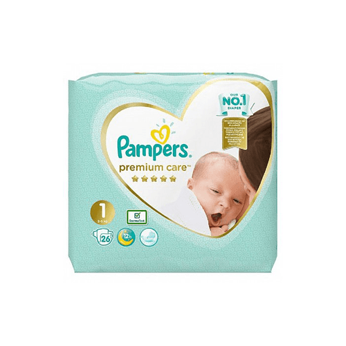Pampers premium ca1 new 26buc