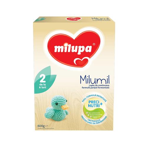Lapte praf Milumil 2 600g