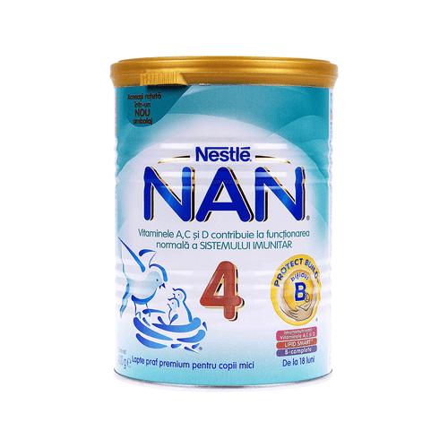 Lapte praf nan 4+18 lnestle 400g