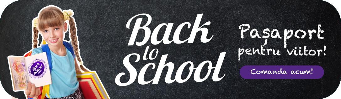 Back To School 2020 - Pasaport pentru viitor! Comanda acum